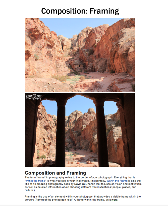 Composition & Framing | Intro to Photography